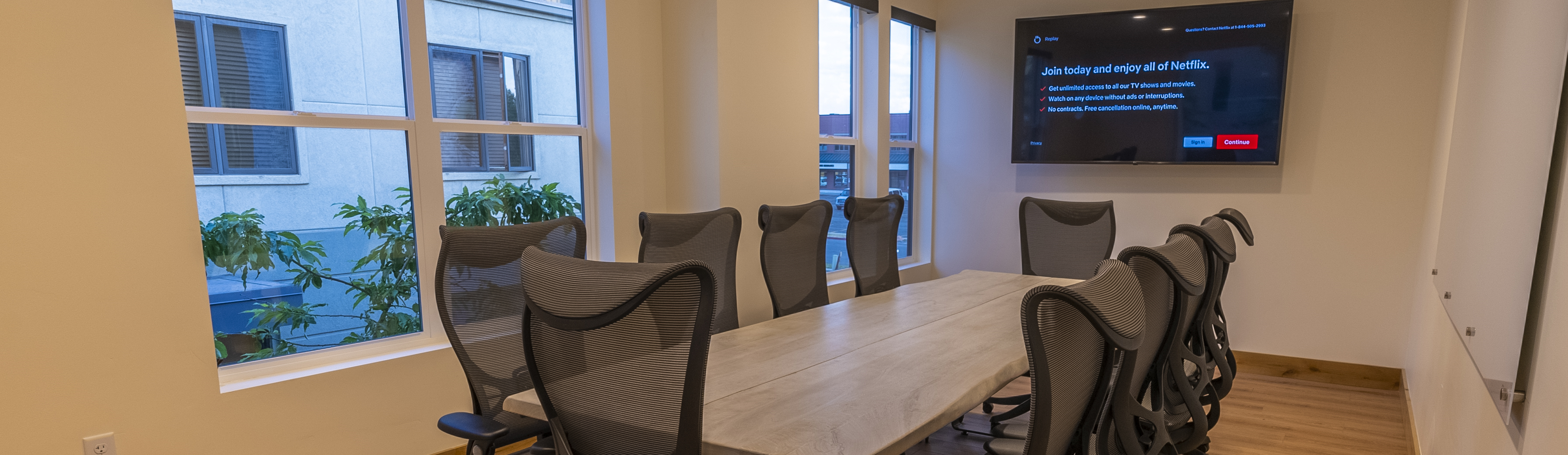 Meeting space daily rentals