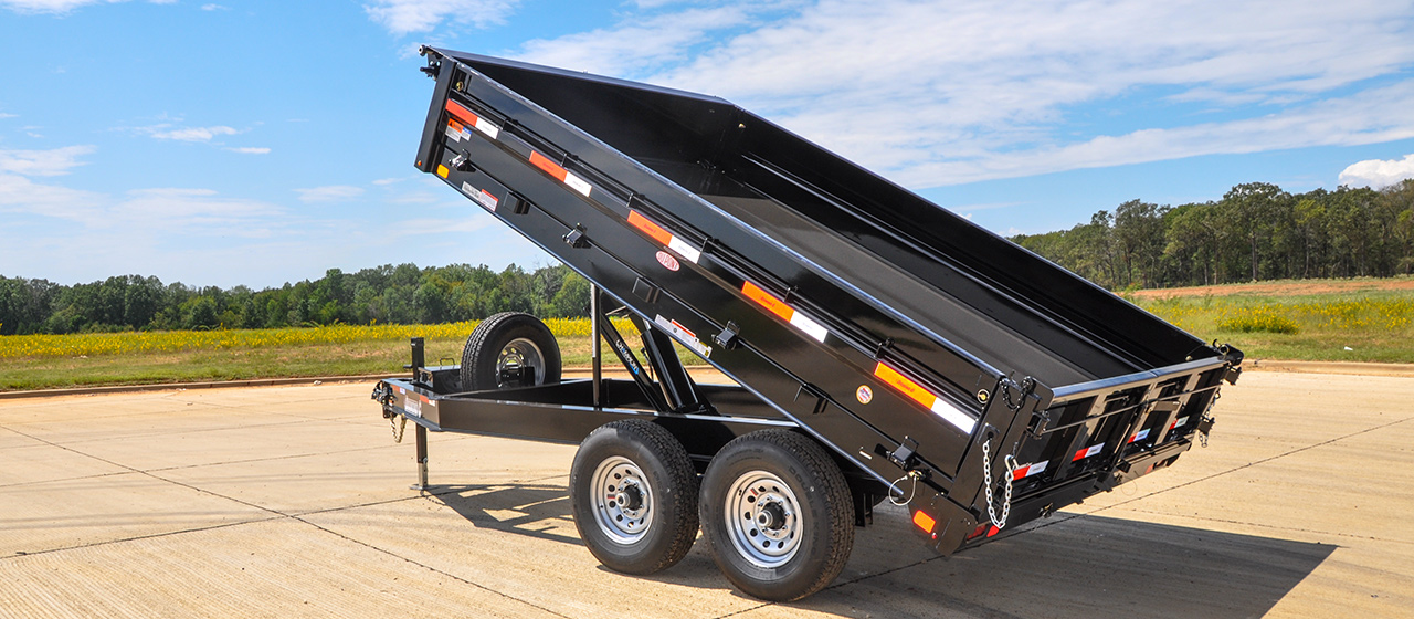 Deck Over Dump Trailers