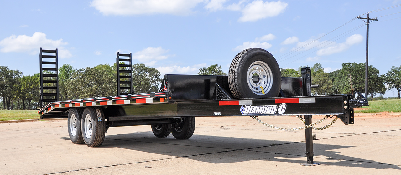 Heavy Duty Deck Over Trailer - GVWR 14,000 lbs