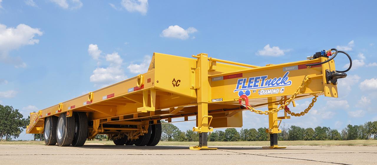 Heavy Equipment Gooseneck GVWR 48,000 lbs