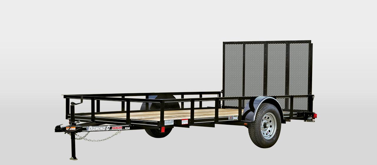 DC Ranger Single Axle Utility Trailer - 2,990 lb GVWR