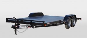 Steel Floor Car Hauler Trailers