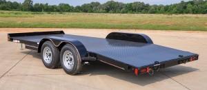 Steel Floor Car Hauler