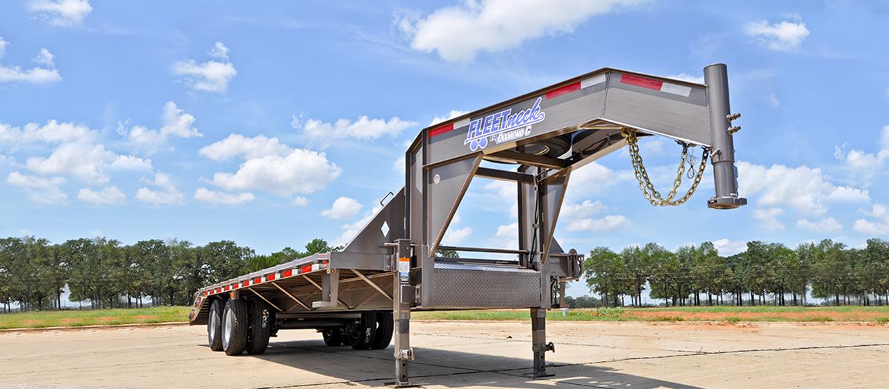 Dual Tandem 20K Gooseneck - GVWR 20,000 lbs