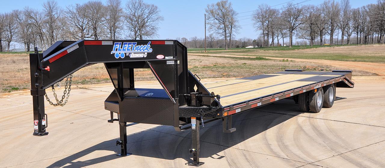 Dual Tandem 22.5K Gooseneck - GVWR 22,500 lbs