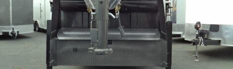 DIAMOND C  C 7x16 HEAVY DUTY LOW PROFILE DUMP TRAILER W/GOOSNECK(0885)