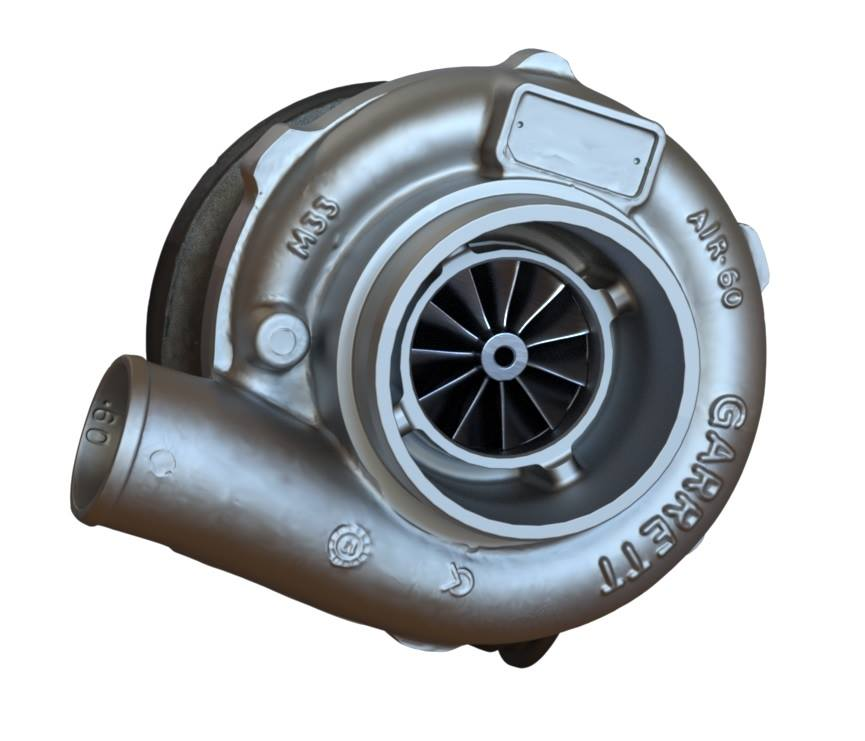Bolton Works Garrett Turbo Compressor Solidworks (2)