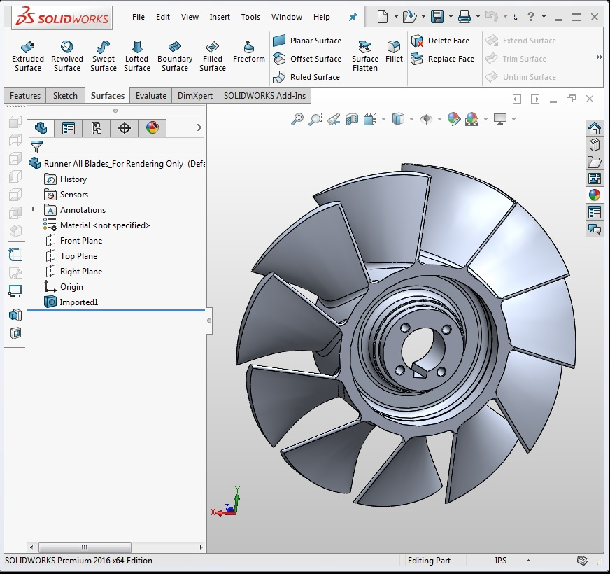 Bolton Works Solidworks Hydro Impeller (6)