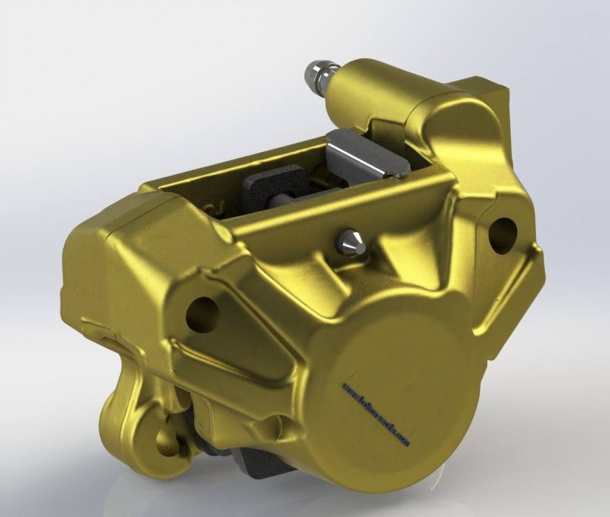 Bolton Works Brembo Caliper FSAE Solidworks Assembly (4)