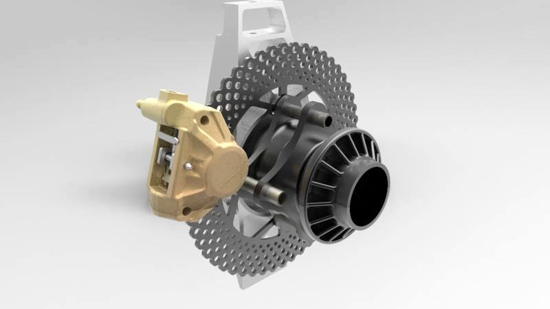 Bolton Works Brembo Caliper FSAE Solidworks Assembly (8)