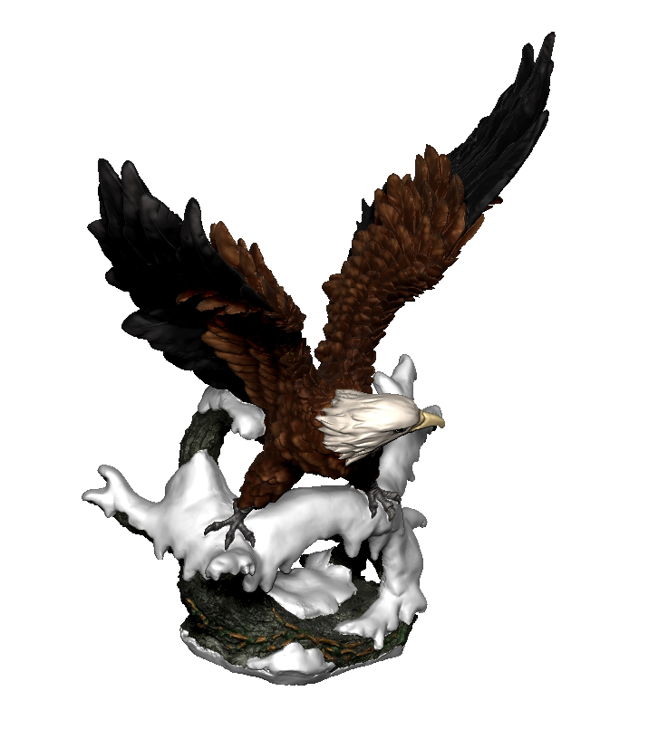 Chinese Carved Eagle