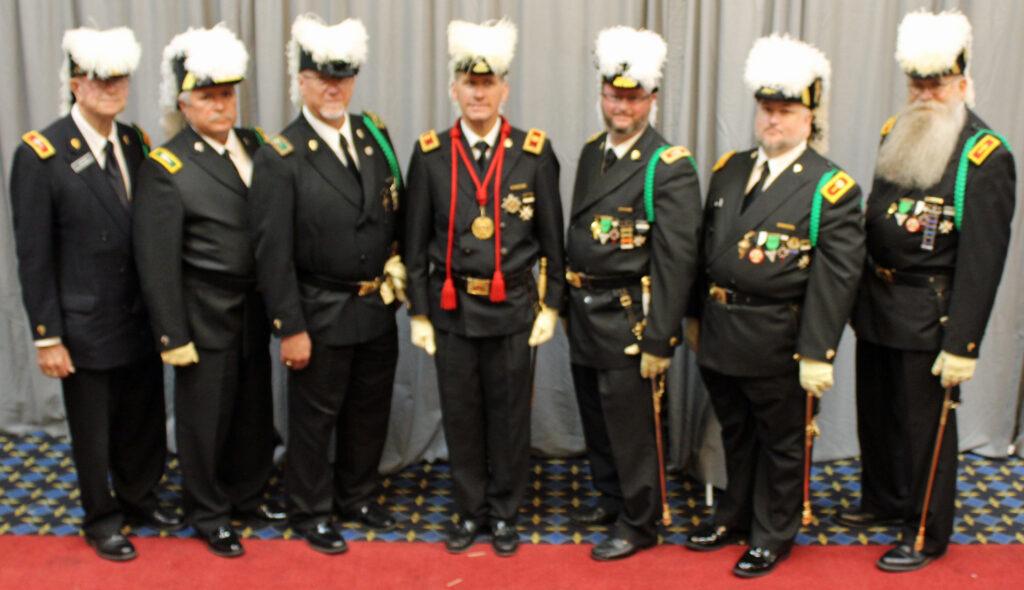 2019 Grand Commandery Regional Grand Commanders