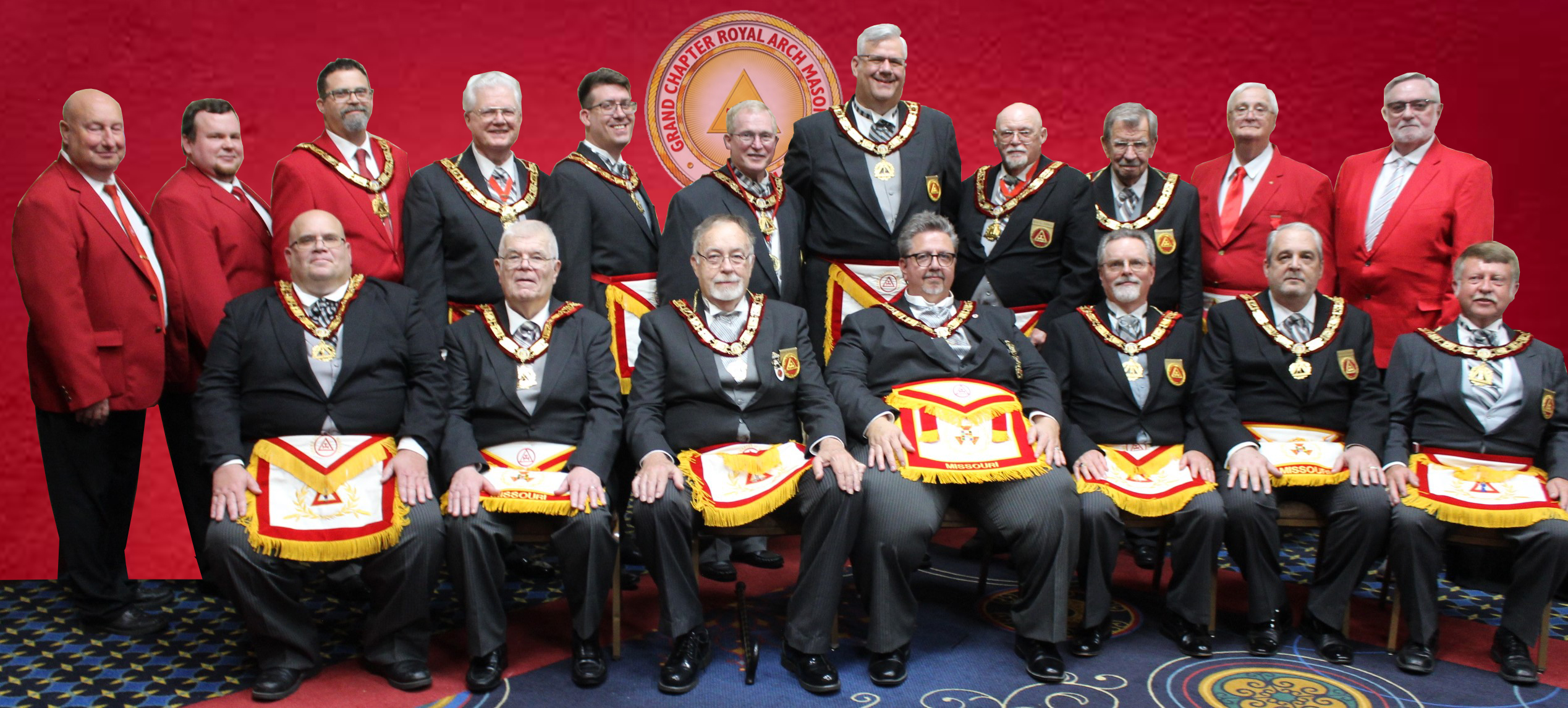 2021 Grand Chapter Officers