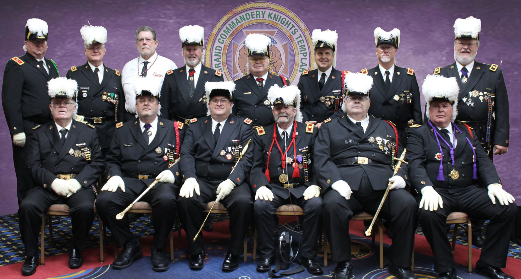 2021-2022 Grand Commandery Officers
