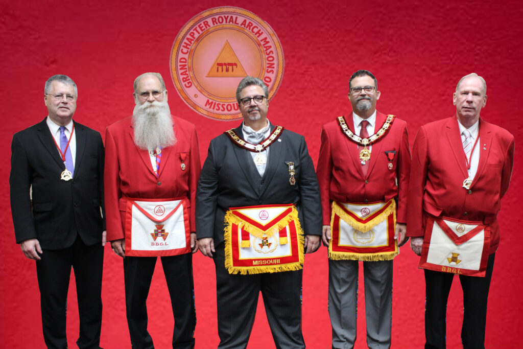 2021 Grand Chapter District Deputy Grand Lecturers