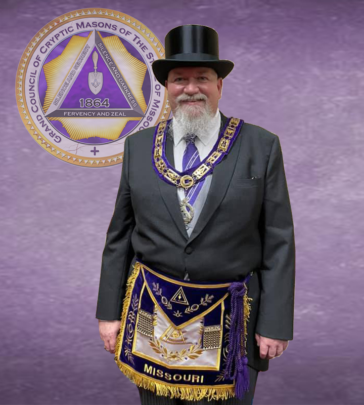 2021 Grand Master of the Grand Council of Cryptic Masons