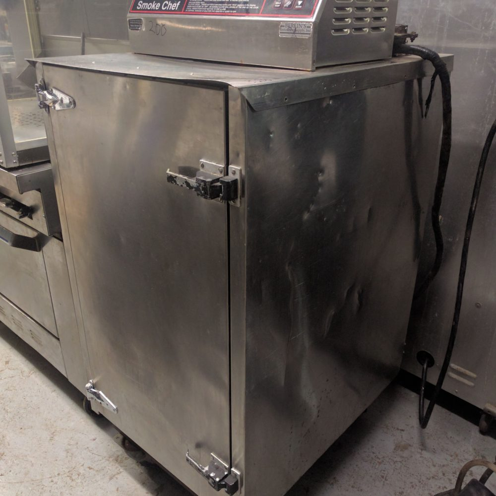 side view southern pride smoke chef bbq smoker
