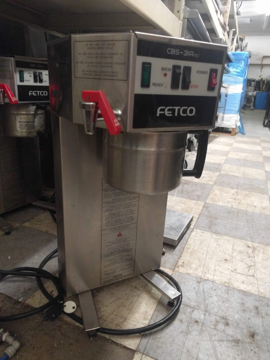 full view Used Fetco CBS-31Aap Coffee Makers