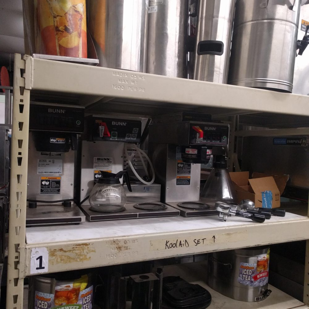 Assorted Used Coffee/Tea Makers and Attachments