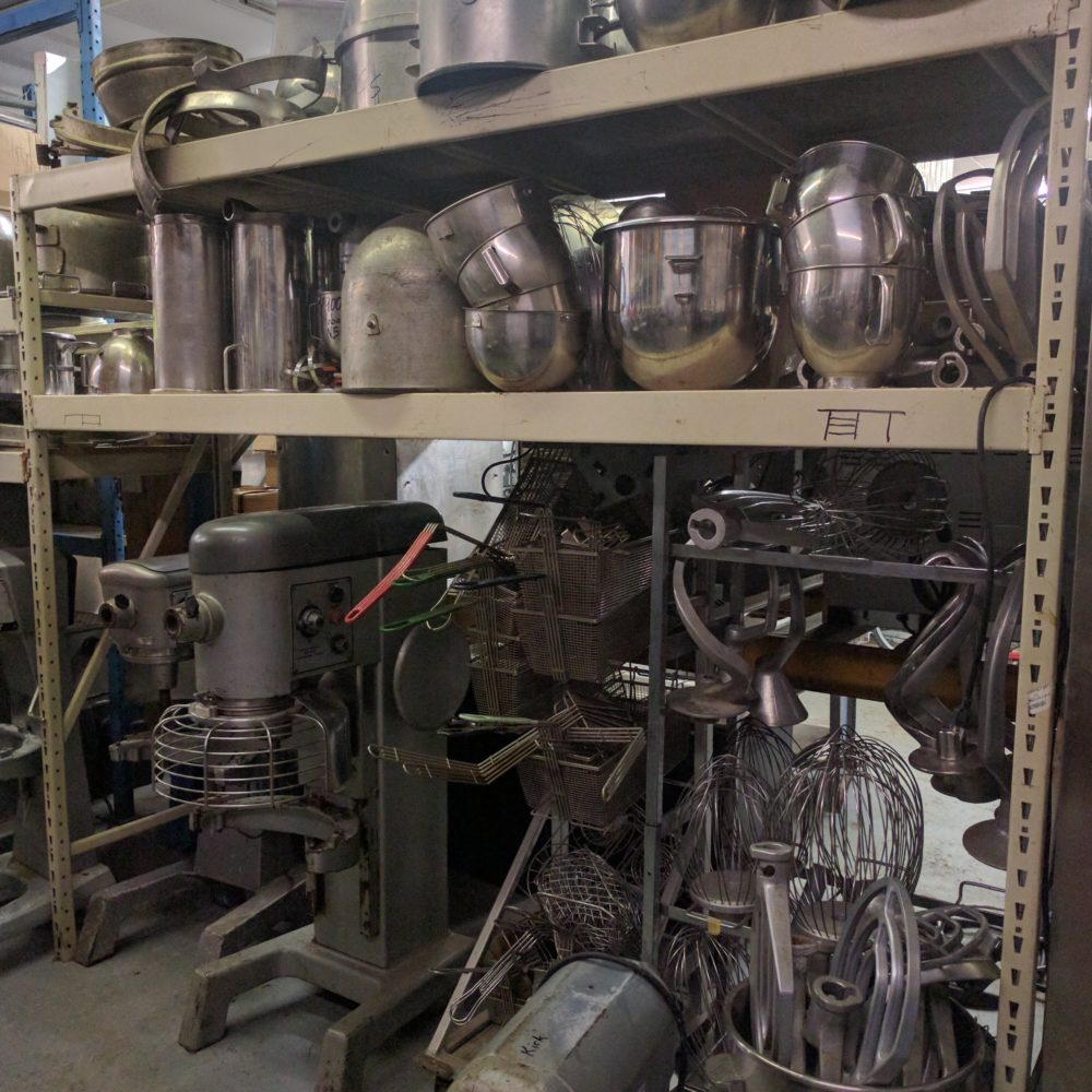 Assorted Used Mixers, Bowls, Attachments