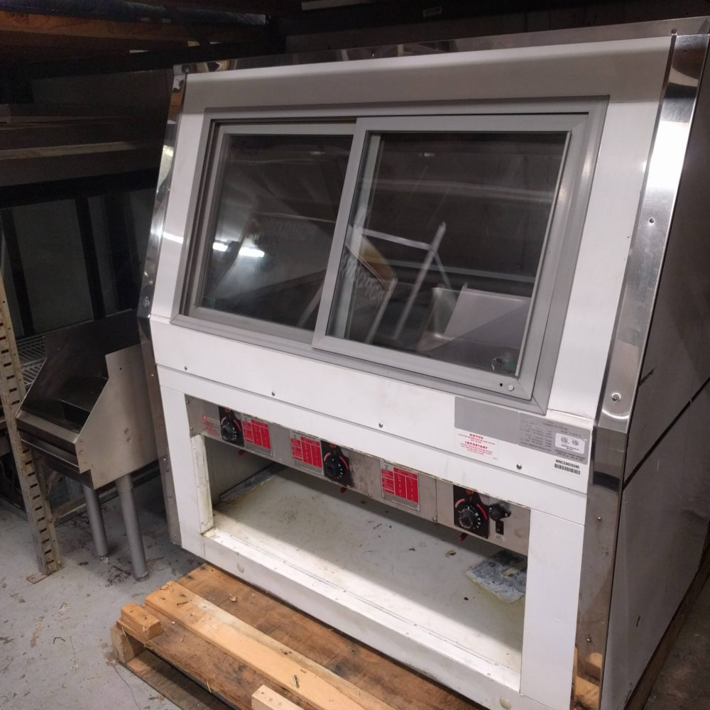 front view Used Howard-McCray Heated Display Case #CHS35-4