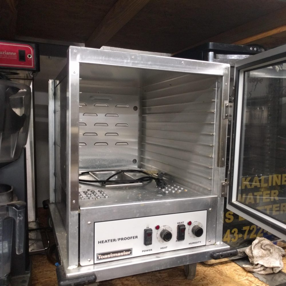 inside Used Toastmaster Heater/Proofer #E9451-HP12CD