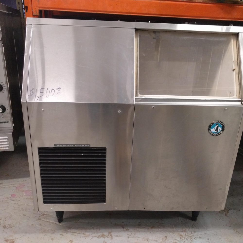 front view Hoshizaki Flaked Ice Maker
