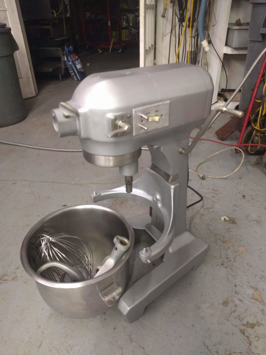 full view Used Hobart A-200 Table Mixer