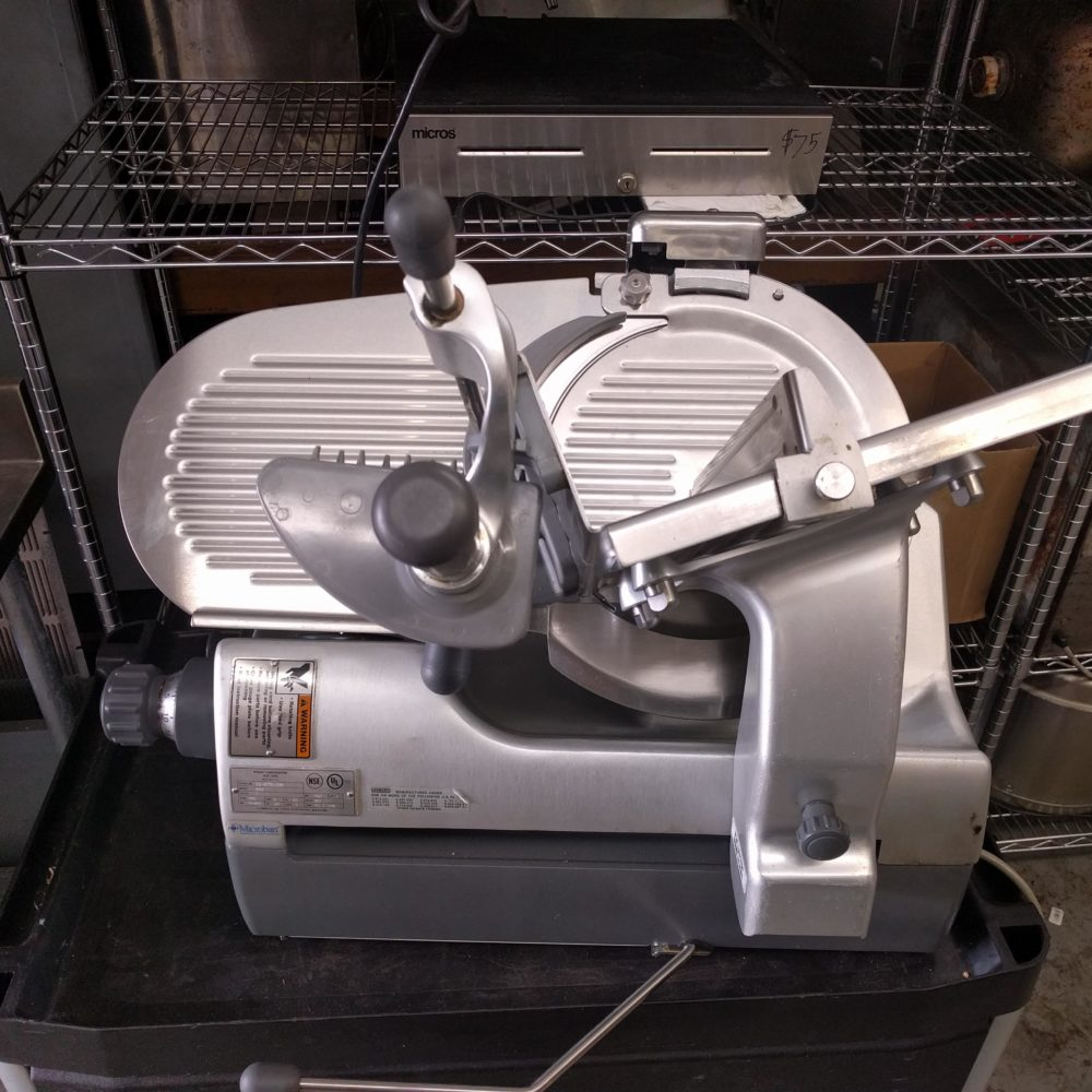 top view Like NEW Automatic Hobart 2912 Slicer