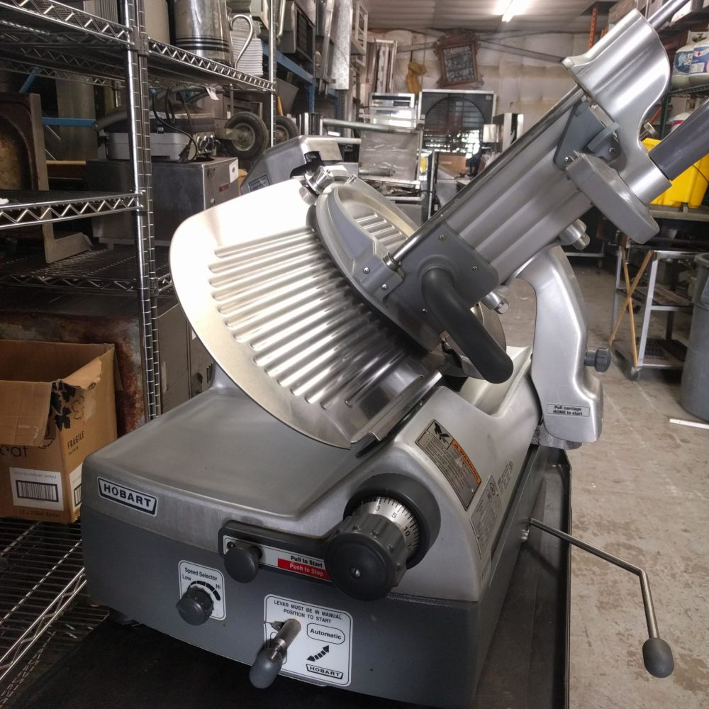 full view Like NEW Automatic Hobart 2912 Slicer