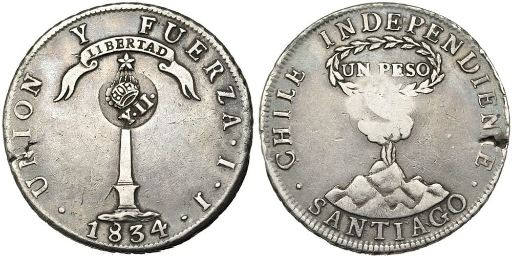 Republic of Chile- Philippine Resealed Coin