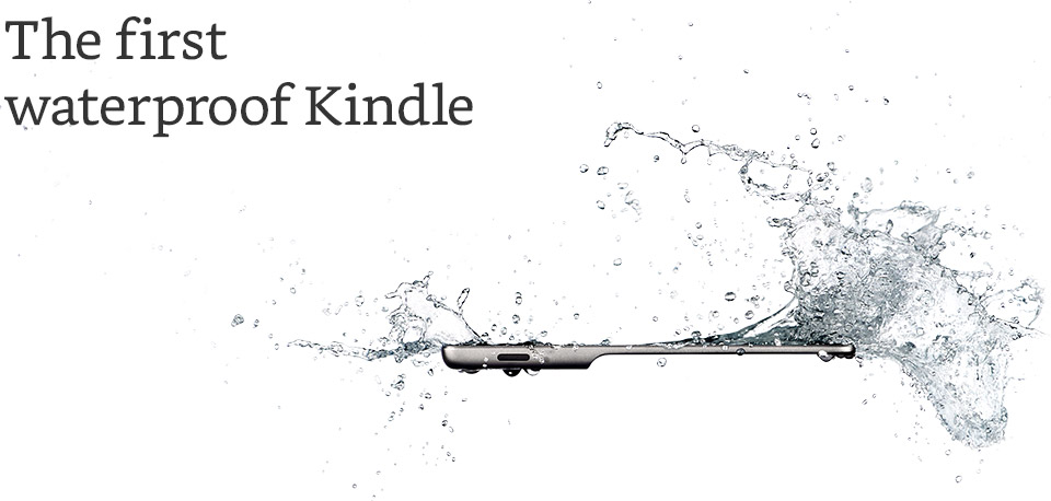 Kindle Oasis Waterproof