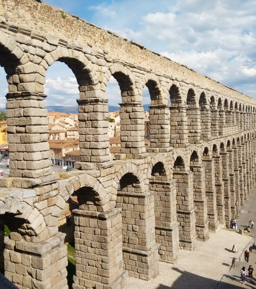 Aqueduct of Segovia 2021 Spain