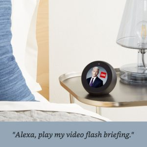 Alexa. Ideal device for the blind