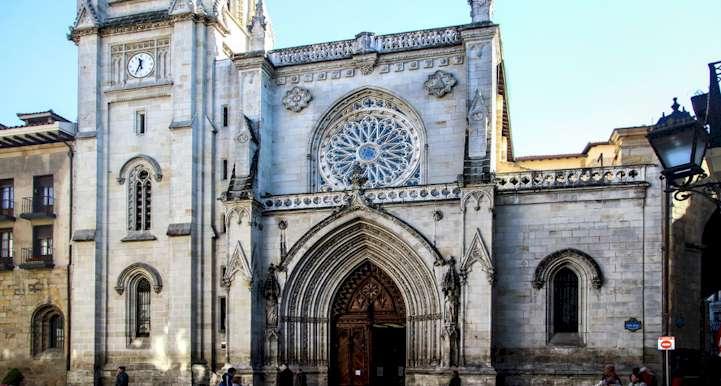 The Cathedral of Bilbao - Walking Bilbao