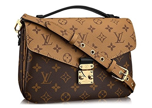 LV Handbags & Bags 2020- Monogram Canvas Pochette Metis Cross Body Handbag