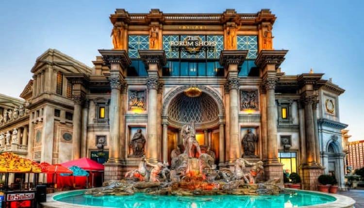 Replica of the Fontana di Trevi-Las Vegas 2021