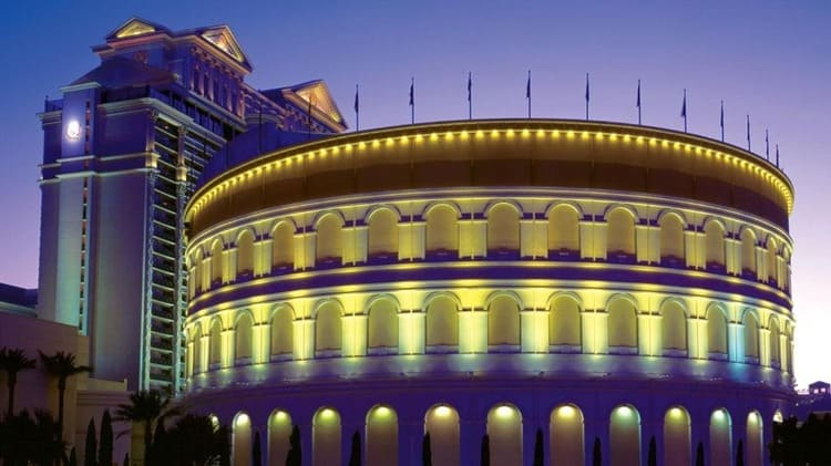 Replica of the Rome Coliseum -Las Vegas: Traveling Europe Without Leaving the United States