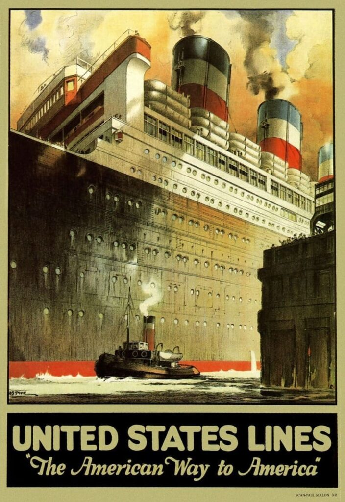 History of Steamboats Advertising 1890-1930