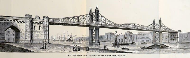 tower bridge - London 125th opening - Original Design