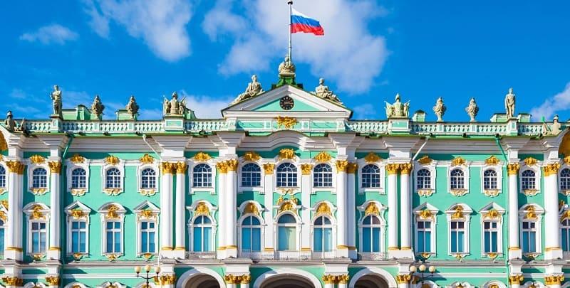 Saint Petersburg Tsar city - Winter Palace
