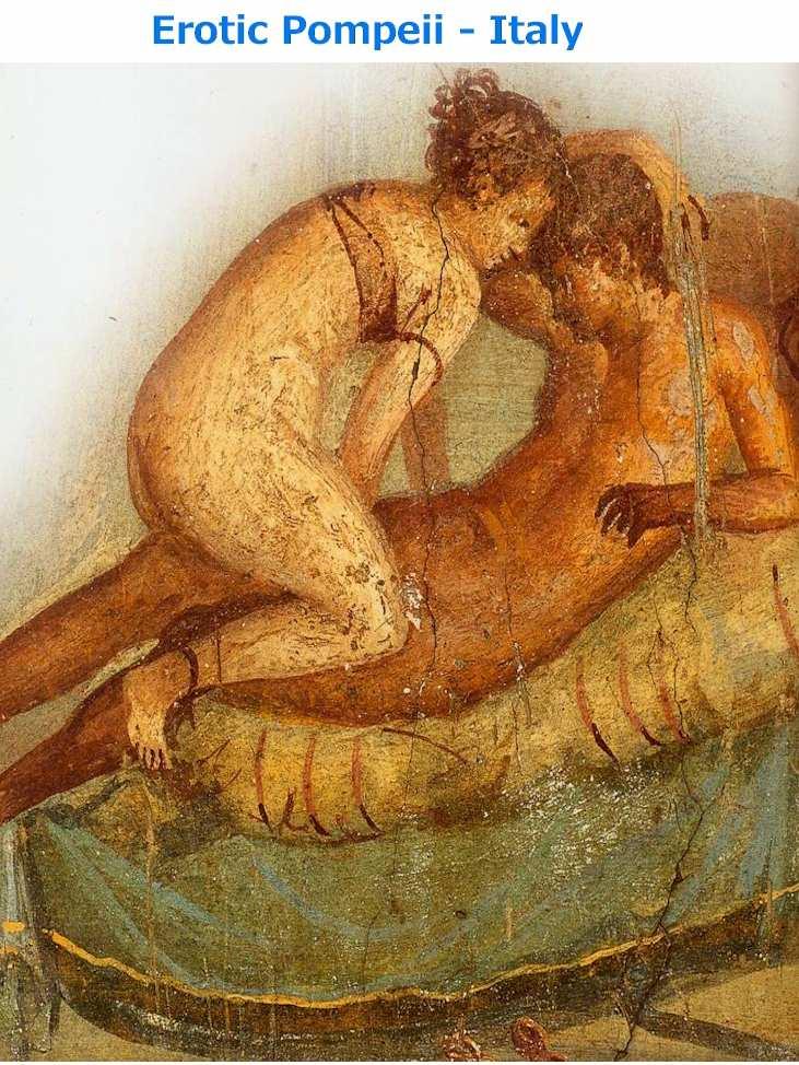 Pompeii - Grand tour 18th century
