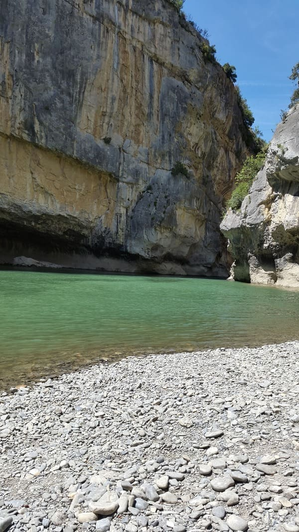Natural Reserve Canyon of Lumbier- Lumbier's fluvial canyon