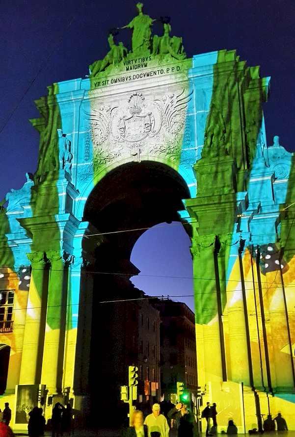 Praza do Comercio - Square Trade - Enjoying Lisbon in 2020