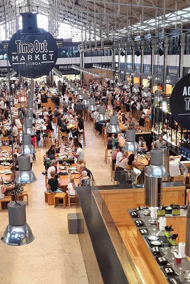 TimeOut Market Lisbon Portugal - enjoying lisbon in 2021