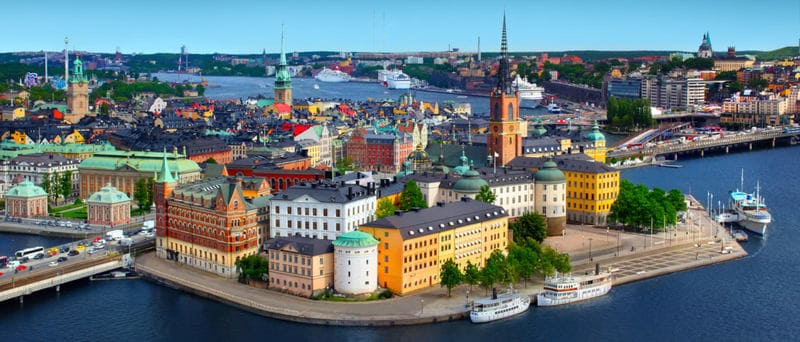 Sweden - 10 Countries with more travelers