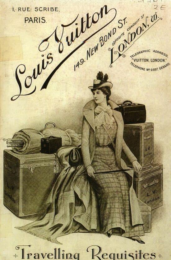 History of Louis Vuitton - Grand tour 18th century