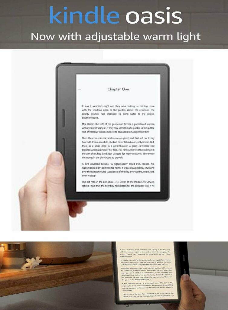 eReaders 2021 Kindle Oasis eReader for Left-Handers