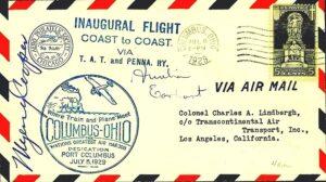 Lindbergh Line - First Coast to Coast Flight 1929