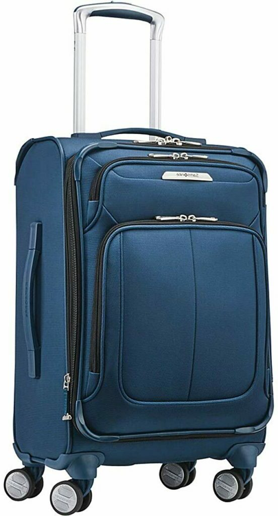 samsonite 2021 Solyte DLX Expandable Softside Luggage with Spinner Wheels -Samsonite Hardside